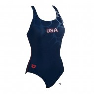 ARENA купальник женский USA ONE PIECE