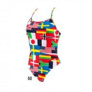 ARENA купальник женский W FLAGS ONE PIECE