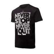 TYR футболка NEVER STOP GRAPHIC TEE