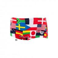 ARENA плавки мужские FLAGS LOW WAIST SHORT